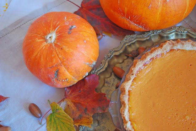 Cuisine and Me!?: Hello, October! French pumpkin tart