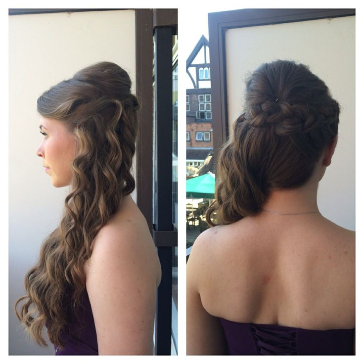 Wedding hair by me