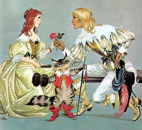 """Anne and Janet Grahame Johnstone, """"Puss in Boots"""""""