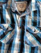 Koszula męska M chłopięca w kratkę kratka na lato   Cena: 10,00 zł  #kratka #koszula #chlopieca #meska