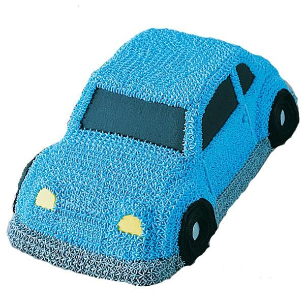 """Need toy cake for your baby's birthday? See these """"3-D Cruiser Cake"""", which is very attractive."""