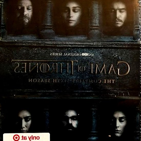 DigiPack / Blu-ray + Digital HD + UltraViolet HBO   2016   Season 6.. HBO to Celebrate Game of Thrones: Season 6 Blu-ray Release with S. Game of Thrones: The Complete Sixth Season Blu-ray (with Bonus Disc) (2016). English: Dolby Digital 5.1 (640 kbps). New from: £39.93 (Save 20%) #GameofThrones #GoT #WinterIsHere #JonSnow #tvtag #DemThrones #DVD #gifts