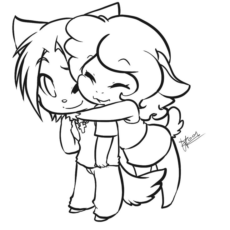 Line Drawing Couple : Best images about anime chibi on pinterest drawings
