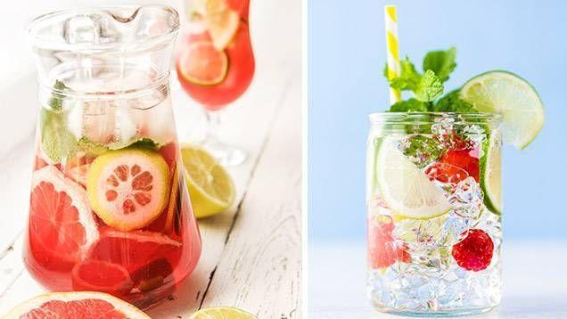 Sommarens bästa och nyttigaste drink - hemgjorda vattendrinkar! Experimentera med smaker och njut av ditt goda vatten. Här får du tips på 8 nya supergoda smaker