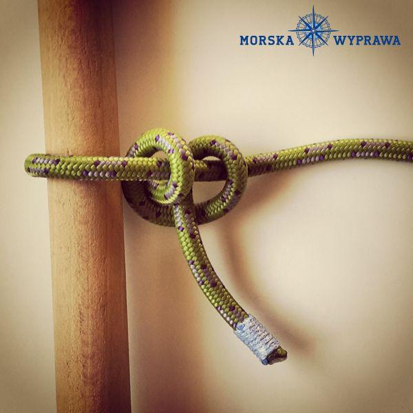węzły żeglarskie - sztyk - służy do cumowania