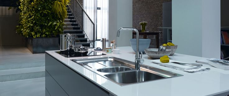 Loved by more people in more kitchens worldwide, Swiss sink manufacturer Franke has always been a leader in design. Incredible durability matched with high-end aesthetics help to make Franke's intelligent sink systems the first choice of discerning homeowners everywhere.