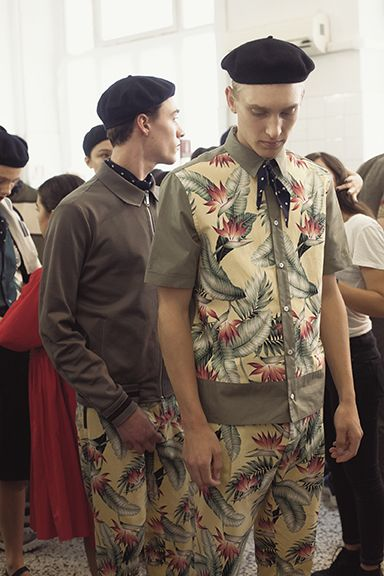 Making of SS 2016 Antonio Marras Menswear Fashion Show