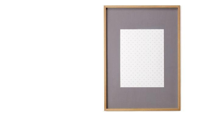 Portland Bilderrahmen 50 x 70 cm, Eiche mit grauem Passepartout (40 x 50 cm) - MADE.COM Jetzt bestellen unter: https://moebel.ladendirekt.de/dekoration/bilder-und-rahmen/rahmen/?uid=92c8cf15-3280-5422-8a84-874e56ecae54&utm_source=pinterest&utm_medium=pin&utm_campaign=boards #bilder #bilderrahmen #rahmen #dekoration