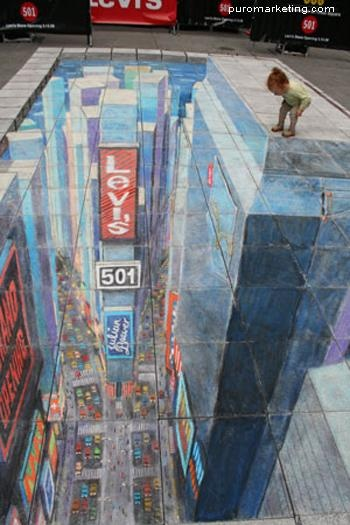 Street Painting - Descubriendo al arte callejero de Julian Beever