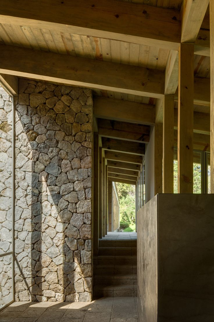 CC Arquitectos builds timber-framed Santana House in Mexican woodland | Dezeen » Architecture | Bloglovin'