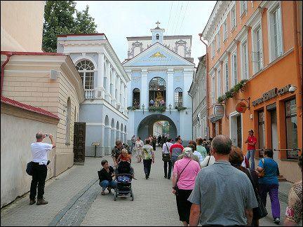 Summer of 2012 - Biked 400 km in 3 days to Ostrabrama (Gate of Dawn)