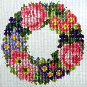 Introducing the Baby Wreath Mini Kit. The design is 6