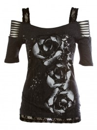 Beautiful idea. I would rock this with faded blue jeans and my biker boots