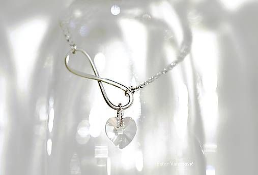 Happiness Swarovski heart