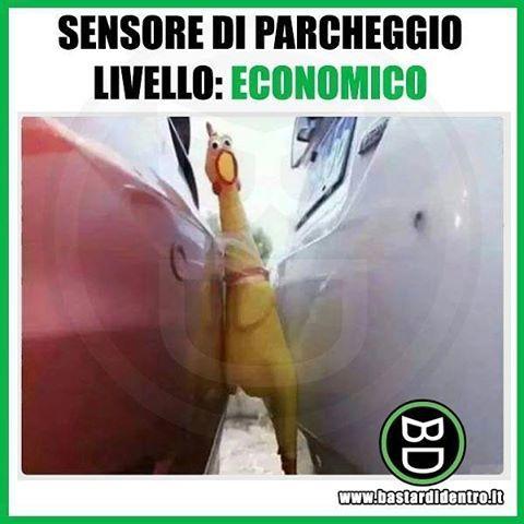 Tagga i tuoi amici e #condividi #bastardidentro #parcheggio #pollo www.bastardidentro.it