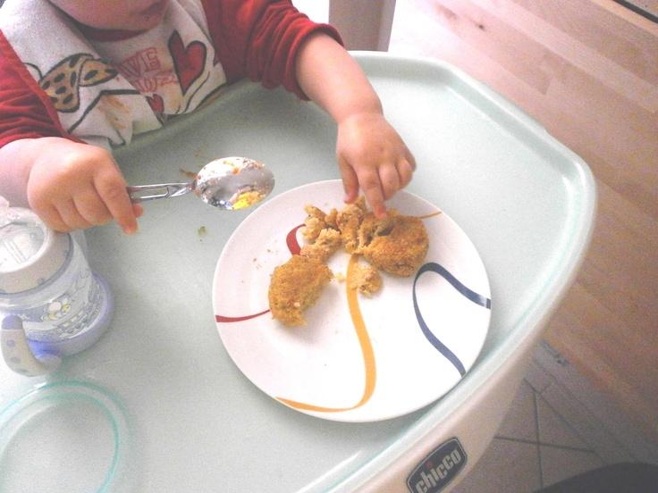 Polpette di pesce e verdure... ricetta sana e saporita... anche a guardare le immagini!