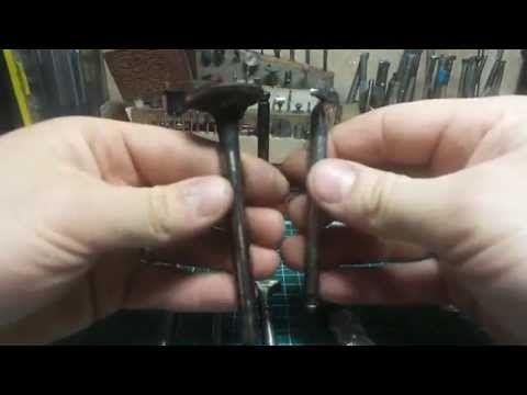 Самодельные штампы для тиснения кожи из клапанов - YouTube