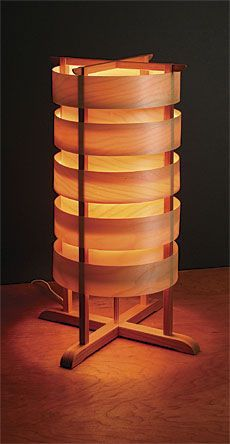 Preview - Two Unique Lamps - Fine Woodworking Article