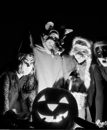 Vintage Halloween (photo by D. Corson,  1950s)
