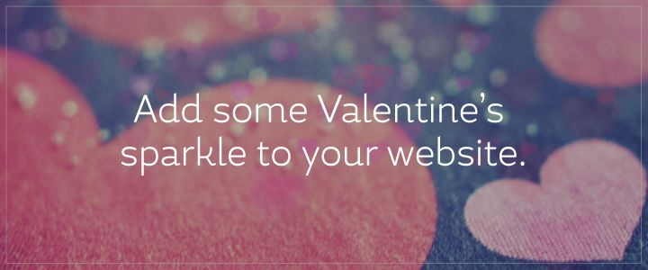 Valentine's Banners and Wallpapers for your website #free #resources #graphics