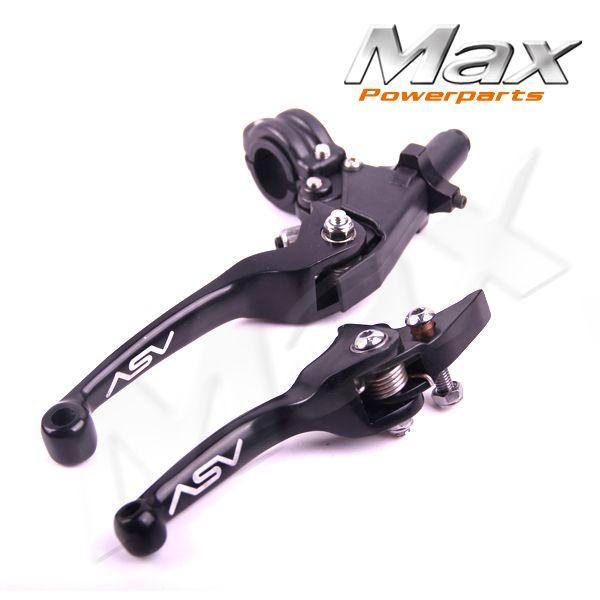 Алюминиевый ASV F3 серии 2-й клатч и тормоза складной рычаг подходит для большинства ATV пит-велосипед WR KLX CRF YZF рмз бесплатная доставка