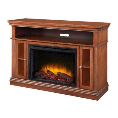 Pleasant Hearth Richmond Media Console Electric Fireplace