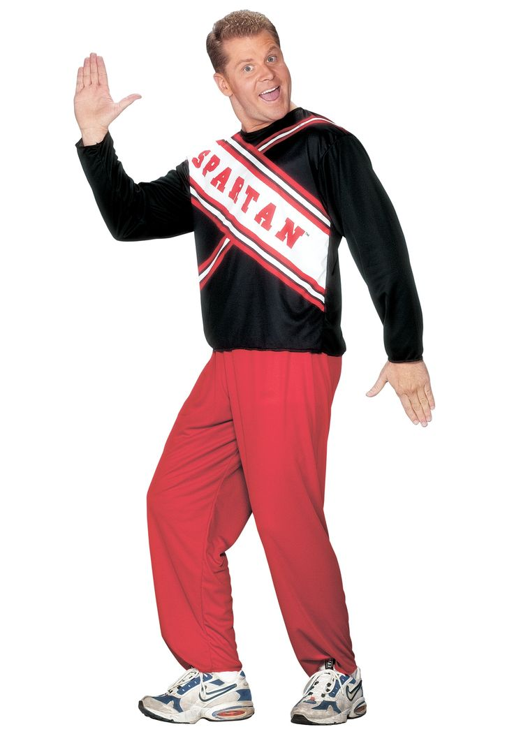 Mens Spartan Cheerleader Costume