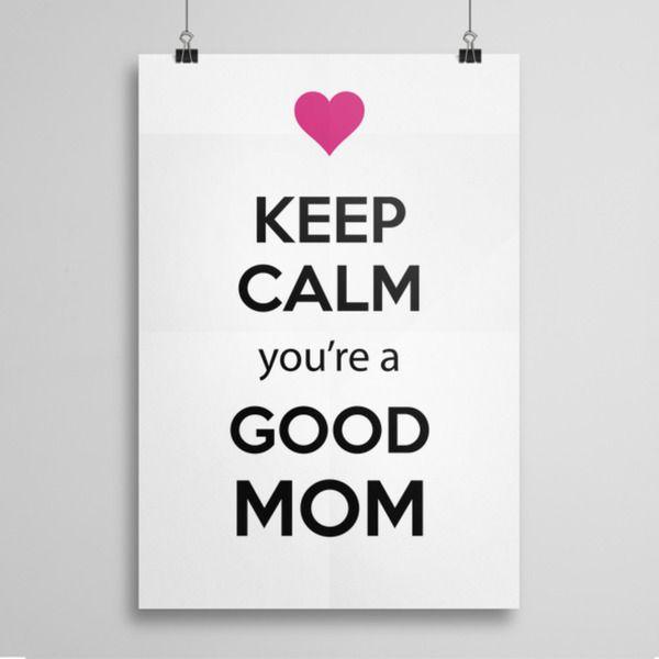 Good Mom - plakat w artiglo na DaWanda.com