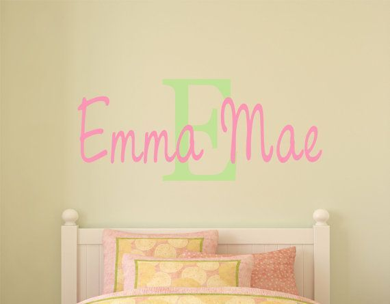 Nursery  Wall Decals    Childrens  Wall  Decals   Baby by LucyLews, $20.00