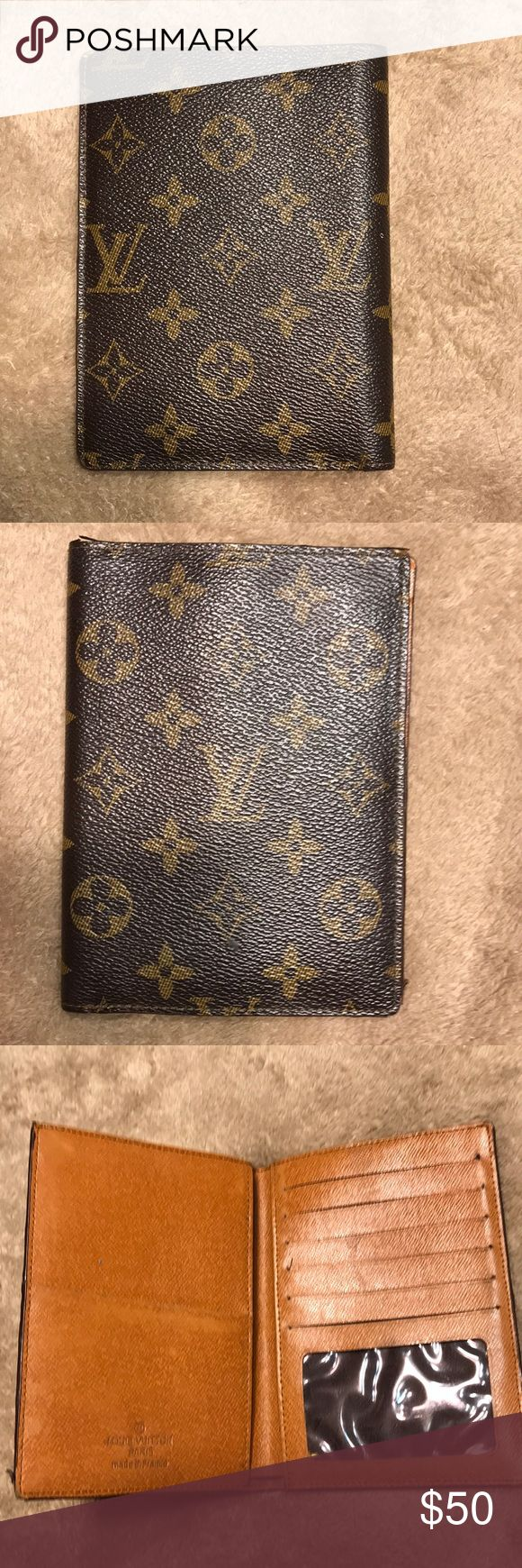 Bootleg LV passport holder/wallet Bootleg LV passport holder  ~ minor wear shown in pictures  ~offers welcome  ~ please ask any questions Louis Vuitton Accessories Key & Card Holders