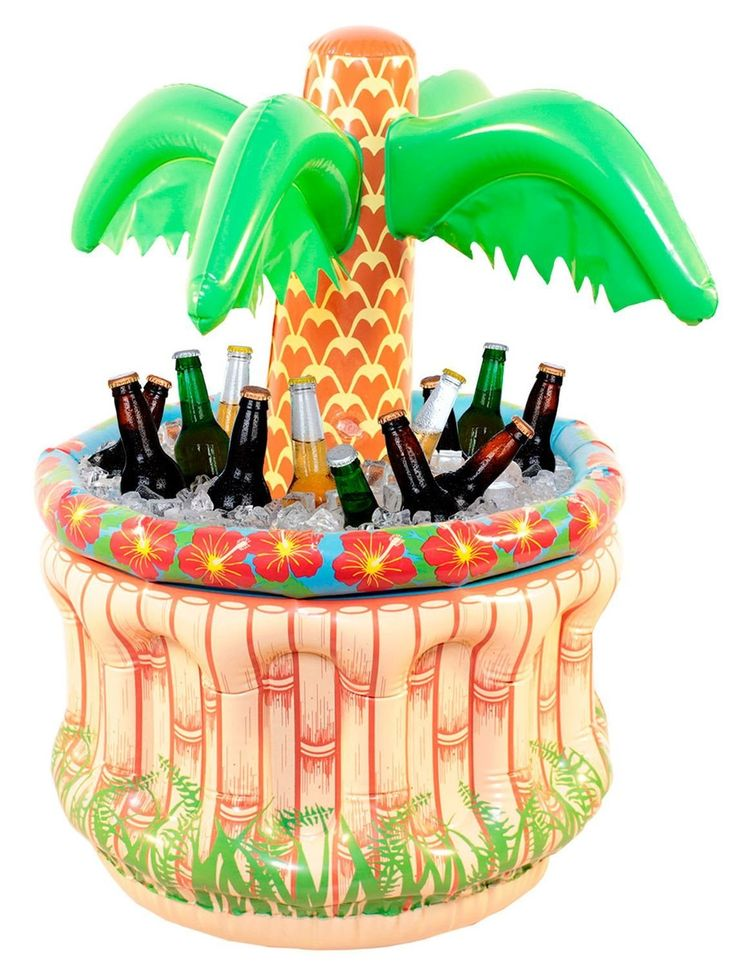 Folat 20568 - Aufblasbare Palme mit Kühler, circa 60 cm: Amazon.de: Spielzeug