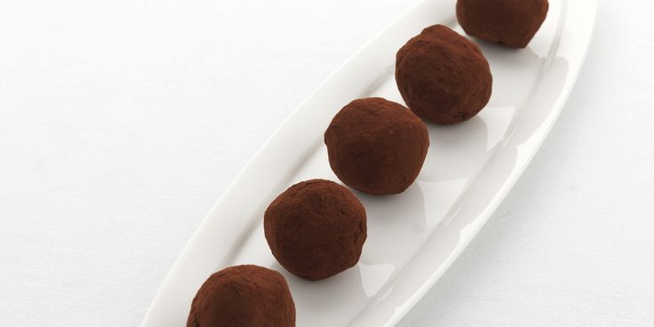These rich chocolate truffles from Martin Wishart have a pleasing booziness from…