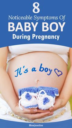 Are you wondering whether that little bundle of joy inside you is a cute little boy. Learn the baby boy symptoms during early pregnancy to find your baby inside.