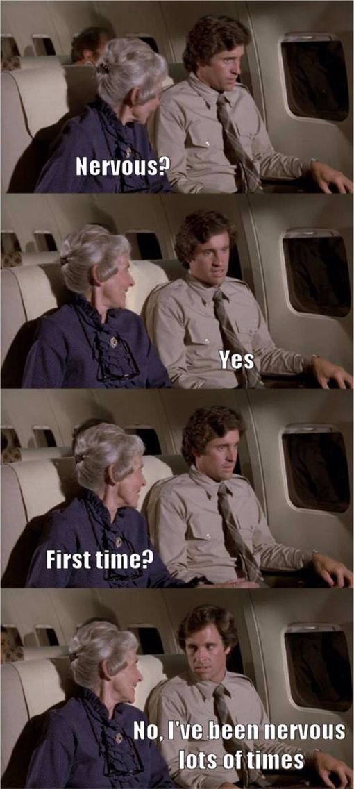 Oh, I love Airplane ... the 80s has the best comedies ✈️
