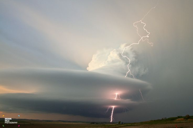 Supercell near Broken Bow, NE in 2013 - Chris Brown