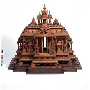 Architectural model from Mysore