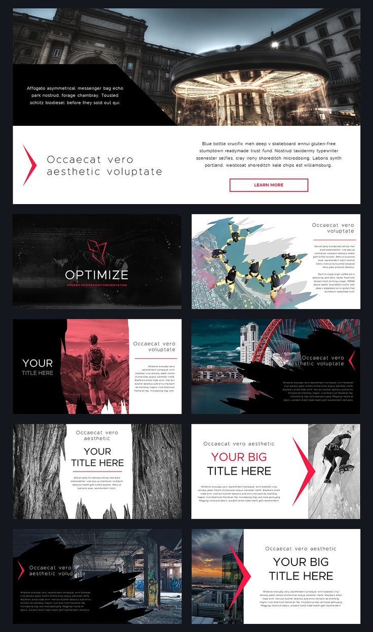 Optimize Modern Powerpoint Template - Presentations - 9