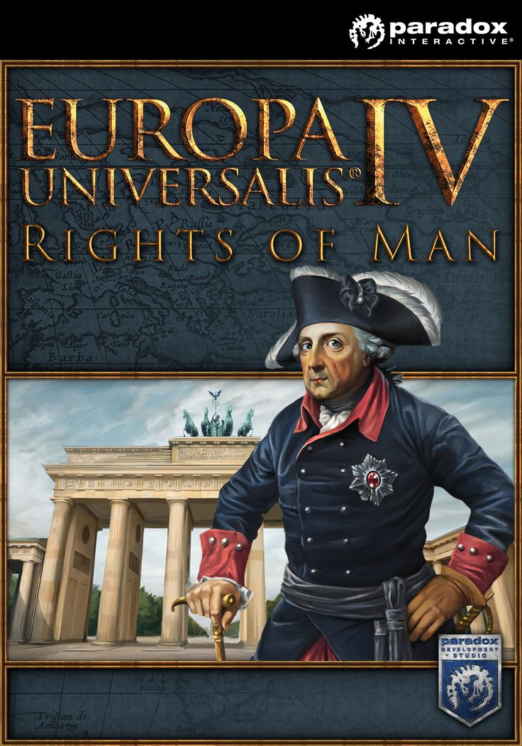 "Paradox Interactive presents ""Rights of Man"", an expansion to Europa Universalis IV that adds greater depth and detail to a host of game systems. New decisions, greater customization and added personality are all coming to the best-selling game about exploration, trade and conquest.   Available Now!"