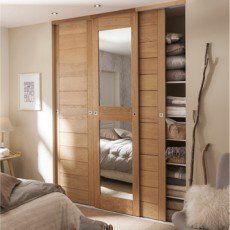 Best Porte Coulissante Images On Pinterest Cupboard Doors - Porte coulissante placard bois