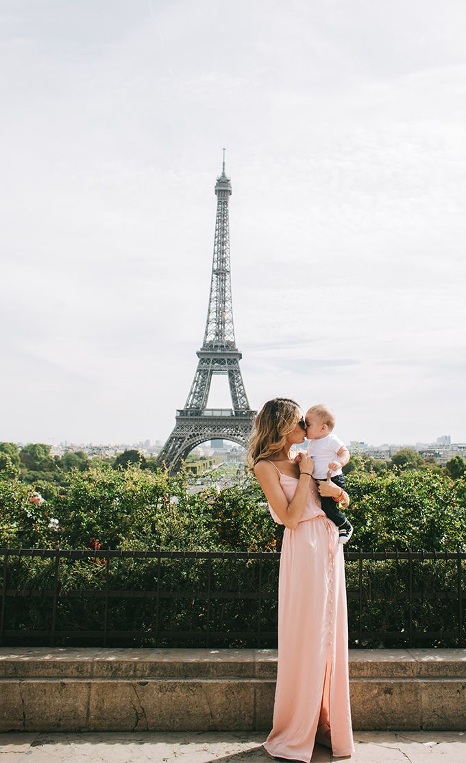 Paul Ezra's first international trip-- and this little man got to visit the Eiffel Tower :)