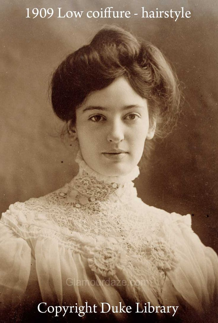 7 fashion 1900-1909 hairstyles