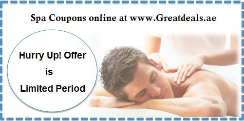 Best Online Massage Discount and Offers on Dubai Massage Coupons, Spa Coupons UAE, Men's & Women's Massage Deals in UAE and Massage deals in Dubai. Sign up now for a new deal every day! Click this Url @ https://greatdeals.ae/beauty-spa/massage.html