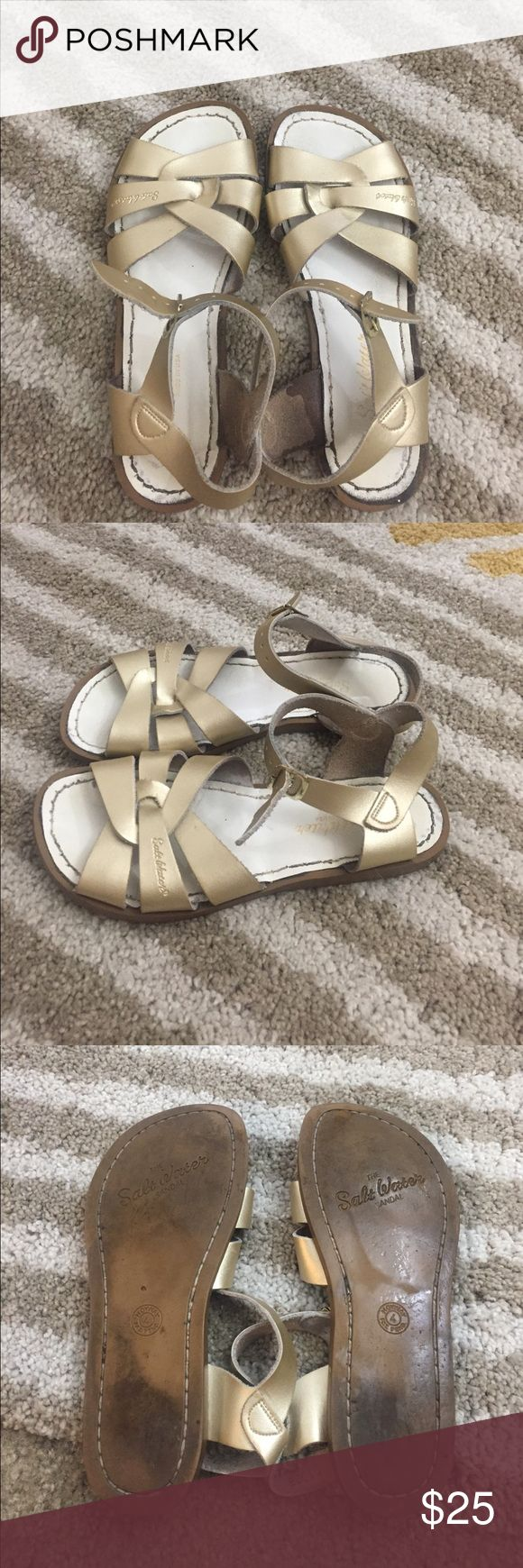 Selling this Saltwater sandals on Poshmark! My username is: markiej3. #shopmycloset #poshmark #fashion #shopping #style #forsale #salt water sandals #Shoes