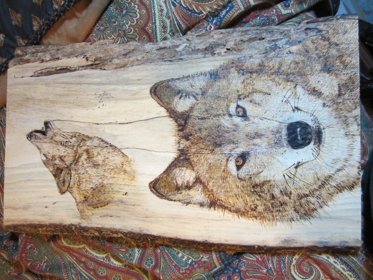 original woodburning on mesquite commissioned wolves cjo my art board pinterest wolves. Black Bedroom Furniture Sets. Home Design Ideas