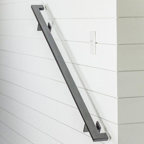 Best 8 Modern Handrail 3 Brackets Tube Steel Hand Rail 400 x 300
