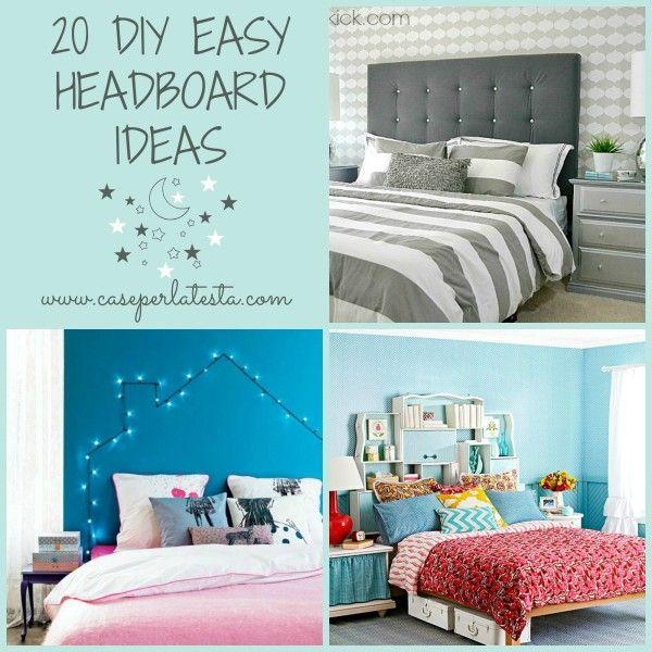Oltre 25 fantastiche idee su testiere fai da te su - Testiere del letto fai da te ...