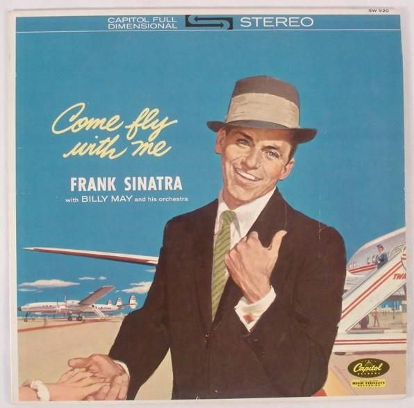 Frank Sinatra ‎– Come Fly With Me (1962) STEREO in our new Cheap Vinyl Section. Buy More, Save More!