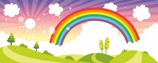 30 Gambar Kartun Pemandangan Pelangi Rainbow Vectors Photos And Psd Files Free Download Download Park Pemandangan Yang Indah Cat Di 2020 Pemandangan Kartun Gambar