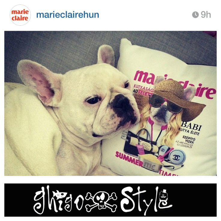 Babi on the Marie Claire cover