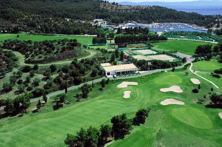 """The unique """"Olive Grove"""" #Golf hole with mild #Mediterranean climate all year round!!  Vote us for Best Greek Golf Resort in 2nd Greek Hospitality Awards: http://hospitality.ethosawards.eu/hospitality/register/candidate.php?id=50"""